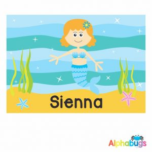 Placemat – Magical Mermaids Redhead