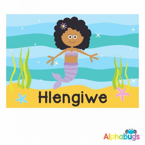 Placemat – Magical Mermaids African