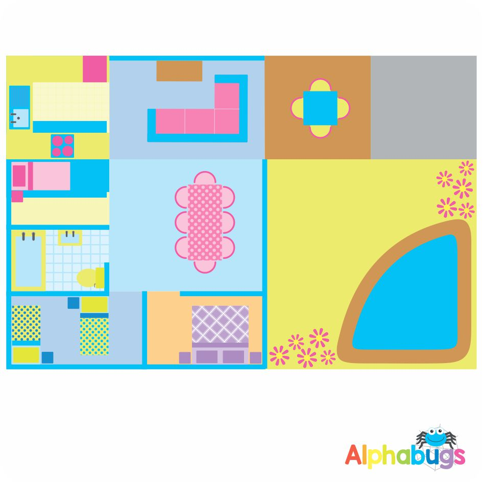 Playmat – In the Home (Large)