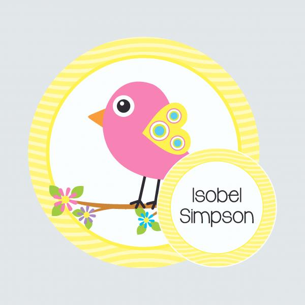 Bag Tag – Beautiful Birds