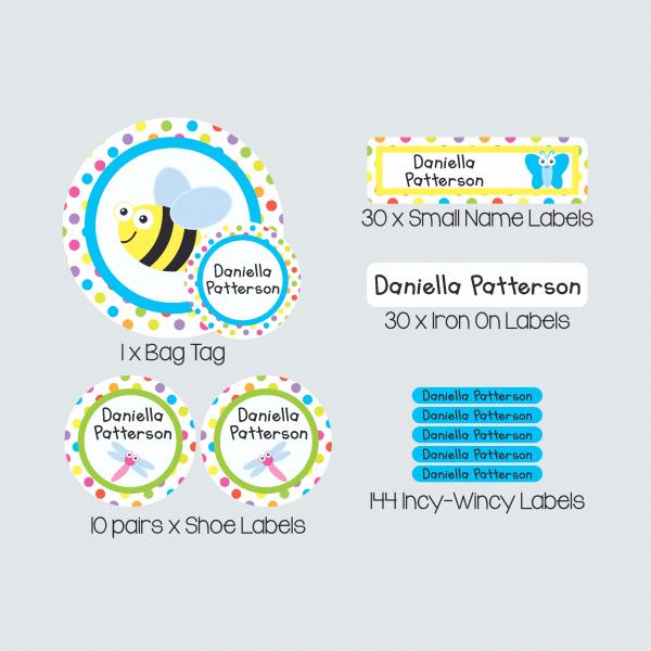 Essential Kids Label Pack – Alphabugs