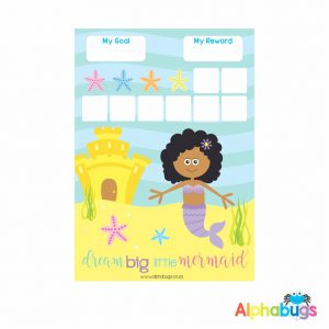 Magnetic Reward Chart – Magical Mermaids African