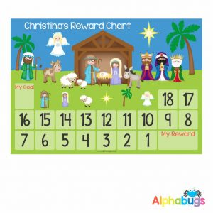 Magnetic Advent Calendar – A Child is Born