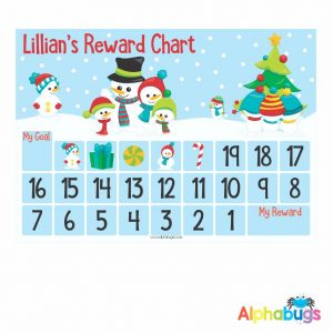Magnetic Advent Calendar – Snowman