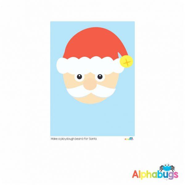 Playdough Mat – Christmas Characters 1