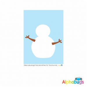 Playdough Mat – Christmas Characters 4