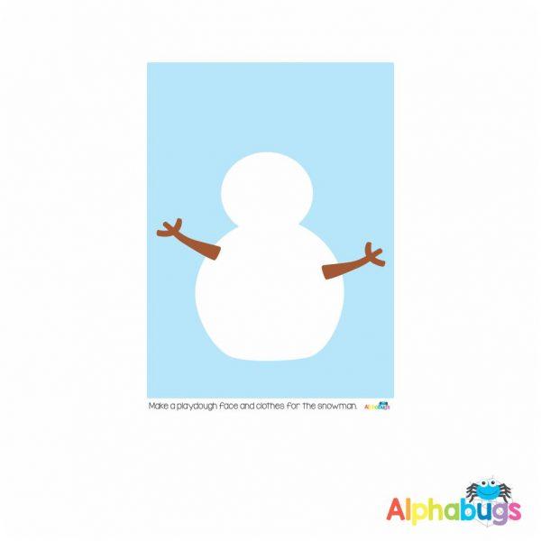 Playdough Mat – Christmas Characters 4