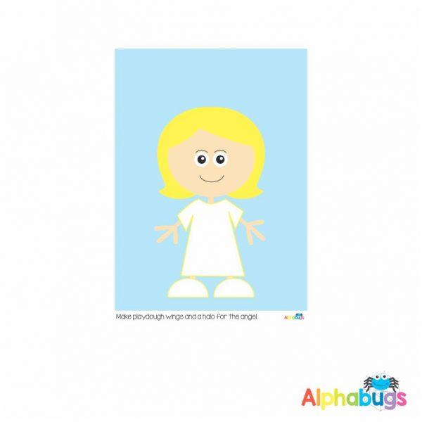Playdough Mat – Christmas Characters 6