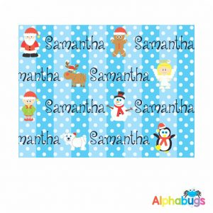 Wrapping Paper – Christmas Characters 55cm