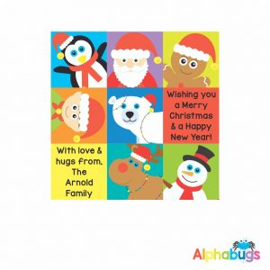 Wrapping Paper – Festive Faces 85cm
