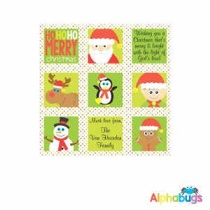 Wrapping Paper – Festive Friends 55cm
