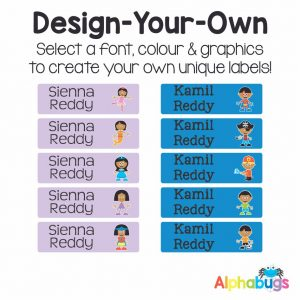 Design-Your-Own Labels
