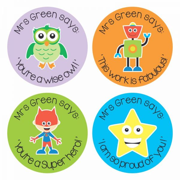 . Personalised Stickers