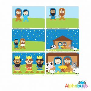 Playdough Mat – A Saviour is Born – All