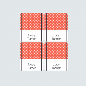 Pencil Wrap Labels – Little Ladybug