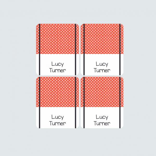 Pencil Wrap Labels – Little Ladybug
