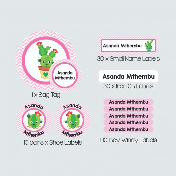 Essential Kids Label Pack – Cactus Makes Perfect
