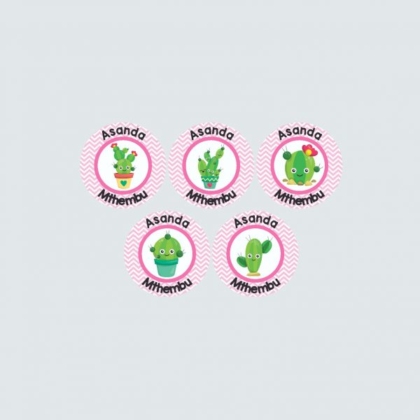 Small Round Labels – Cactus Makes Perfect