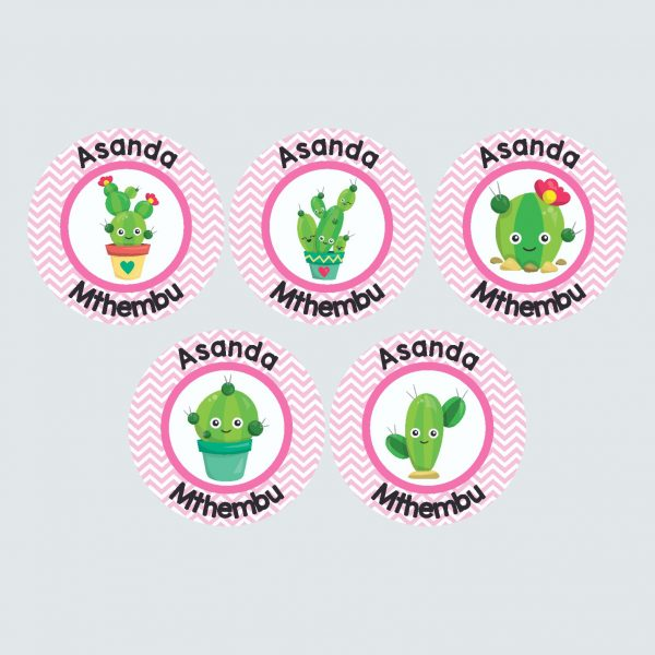 Large Round Labels – Cactus Makes Perfect