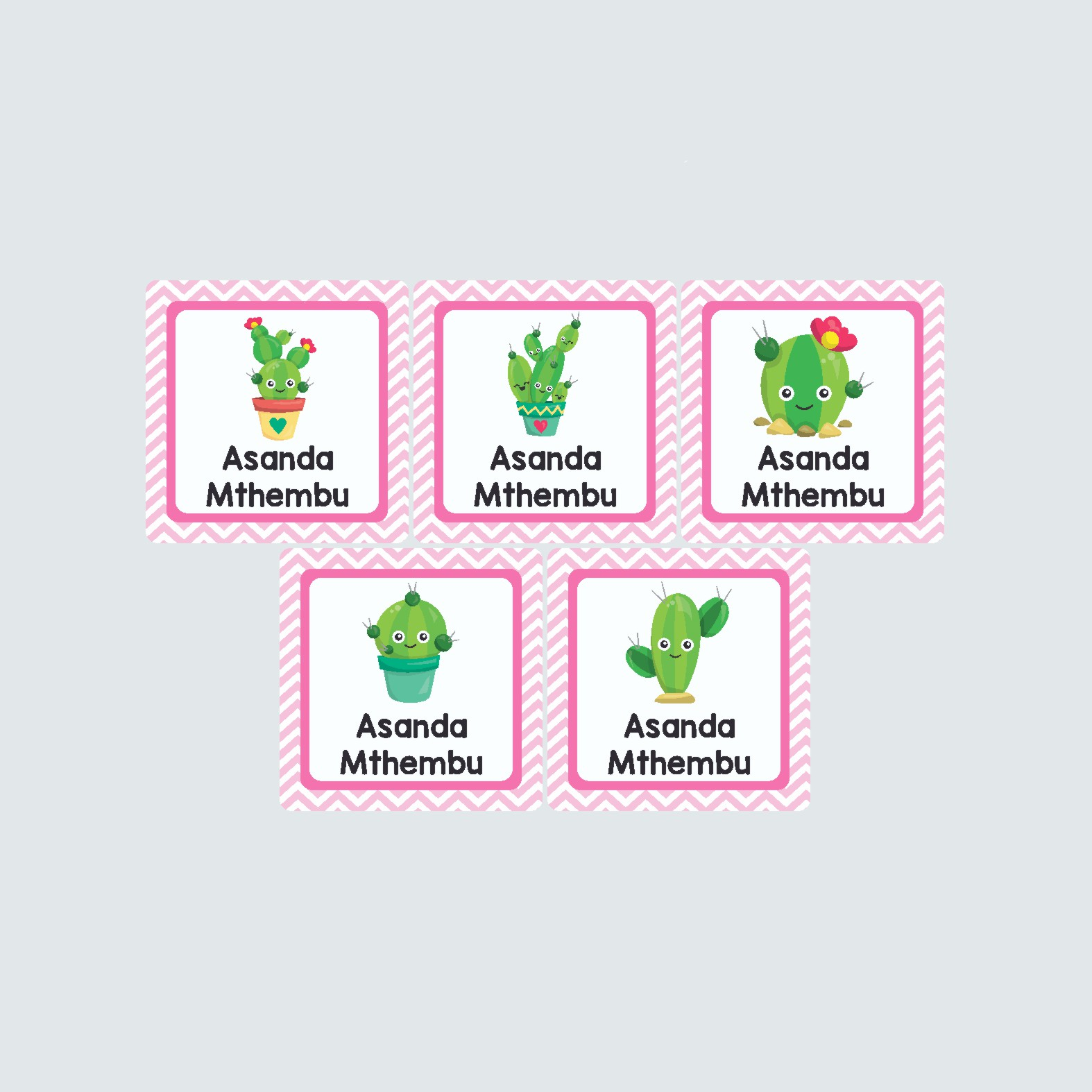 Square Labels – Cactus Makes Perfect