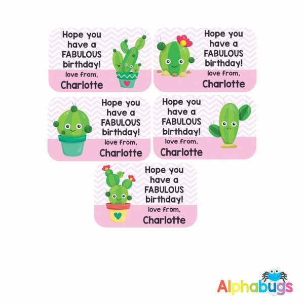 Gift Labels – Cactus makes Perfect