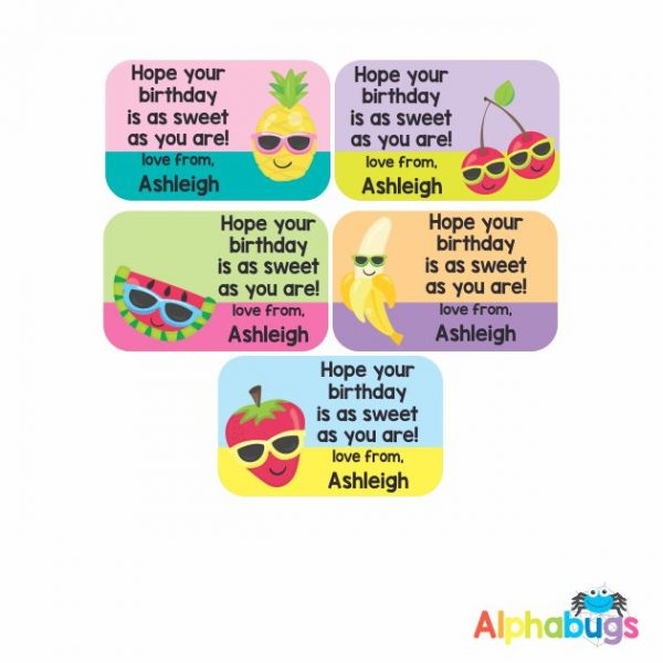 Gift Labels – Cutie Fruity