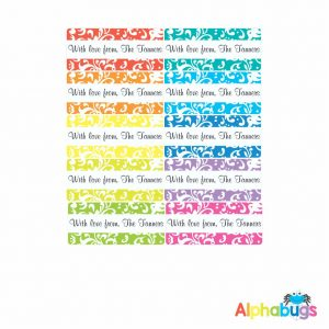 Gift Labels – Floral Brights