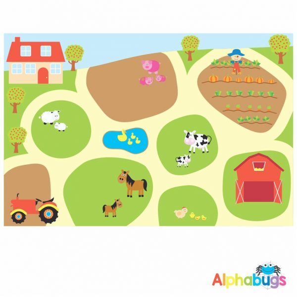 Playmat – At the Farm (Large)