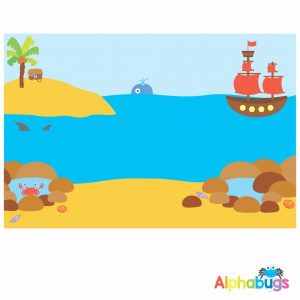 Playmat – Out to Sea (Small)
