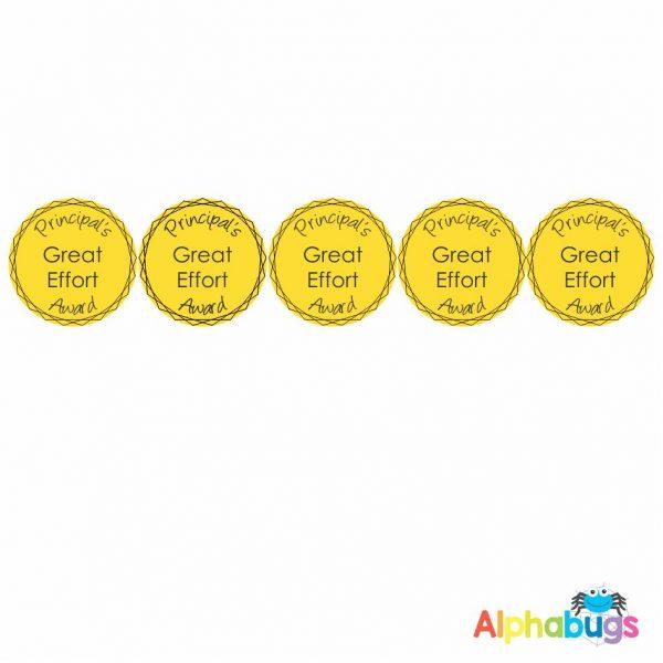 Positive Praise – Principal Award – Great Effort GOLD