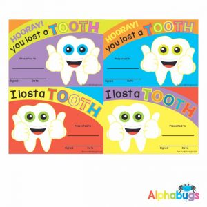 Certificates – I Lost A Tooth 1