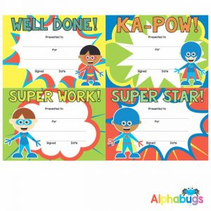 Certificates – Superboys
