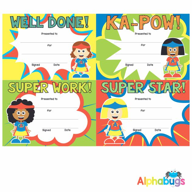 Certificates – Supergirls