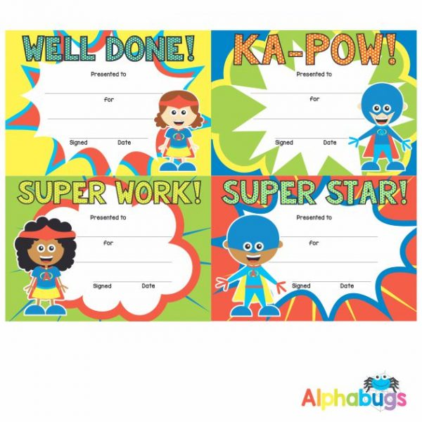 Certificates – Superkids