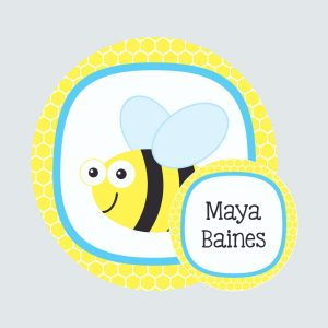 Bag Tag – Busy Bees