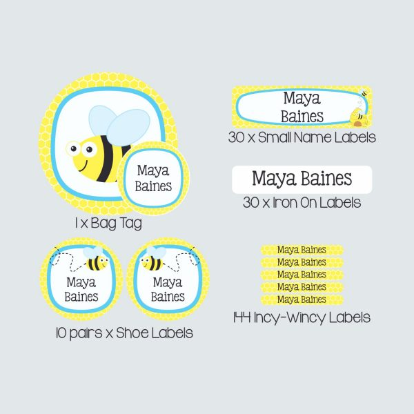 Essential Kids Label Pack – Busy Bees