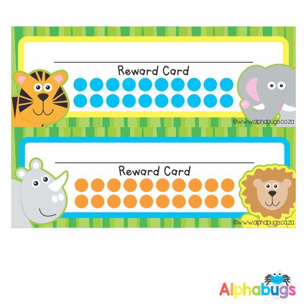 School Reward Cards – In The Wild