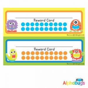 School Reward Cards – Monstrous Monsters