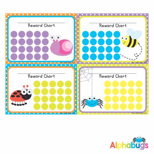 School Reward Chart – Alphabugs