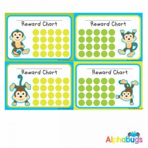 School Reward Chart – Monkey Mischief