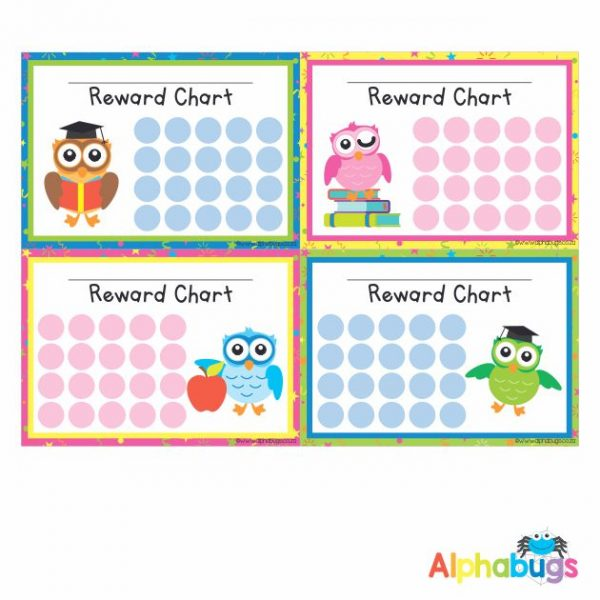 School Reward Chart – Wise Owls