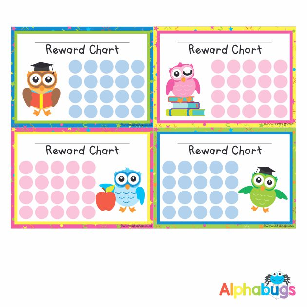 School Reward Chart – Wise Owls