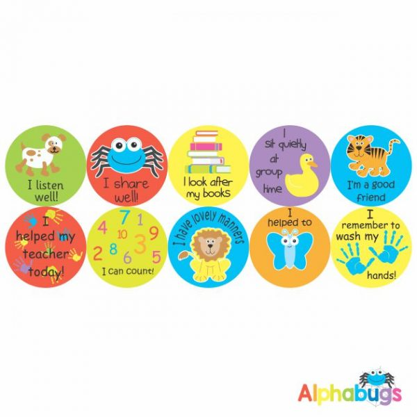 Early Learning Stickers – Pack 3