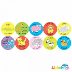 Early Learning Stickers – Pack 4