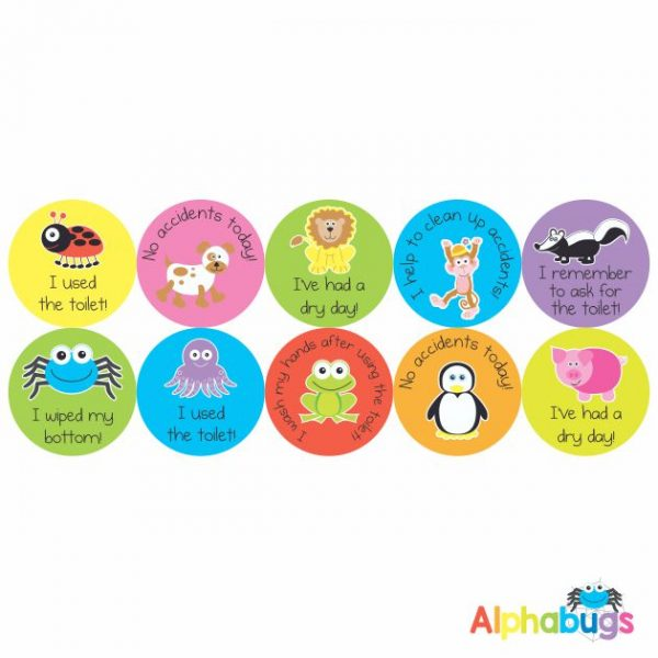 Early Learning Stickers – Potty Training