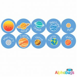 Themed Stickers – Outer Space