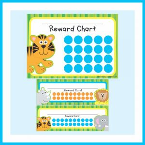 School Reward Charts & Cards