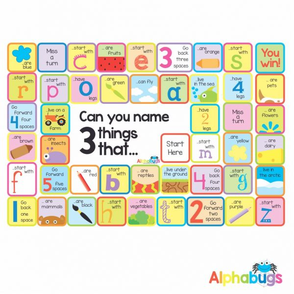 Mat Game – Name 3 things that…