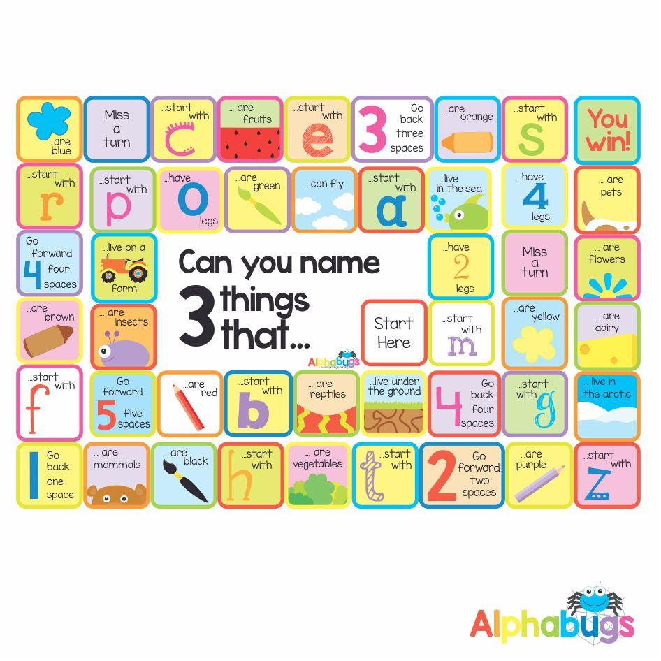 Mat Game – Name 3 things that…
