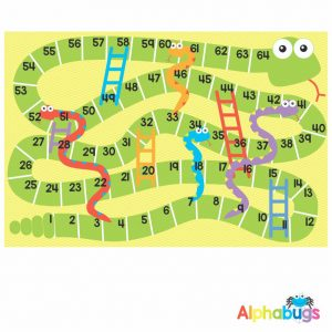Mat Game – Snakes n Ladders